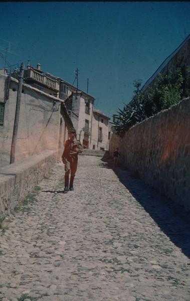 1962-08 Spanish soldier in uniform