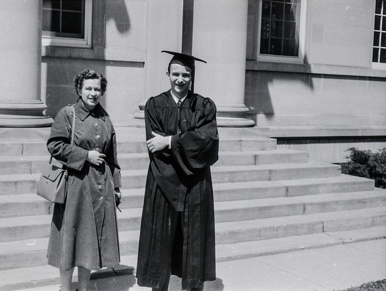 1957 Ripon College  -  Ripon, WI - David Baral's graduation - 6