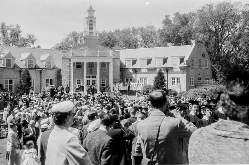 1957 Ripon College  -  Ripon, WI - David Baral's graduation - 1-Edit