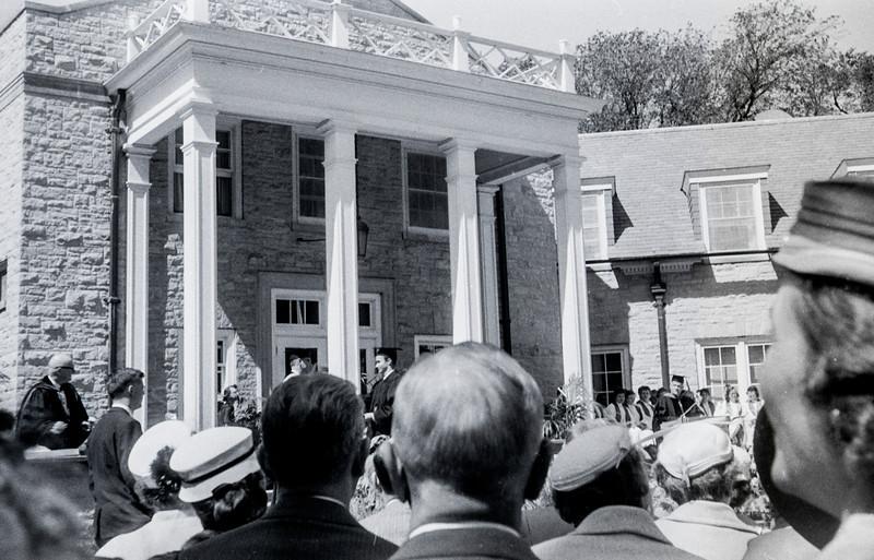 1957 Ripon College  -  Ripon, WI - David Baral's graduation - 3