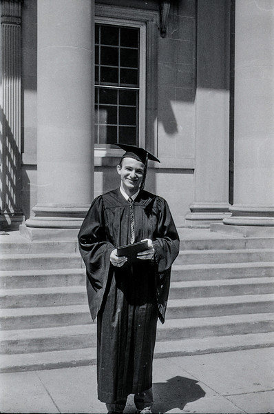 1957 Ripon College  -  Ripon, WI - David Baral's graduation - 10