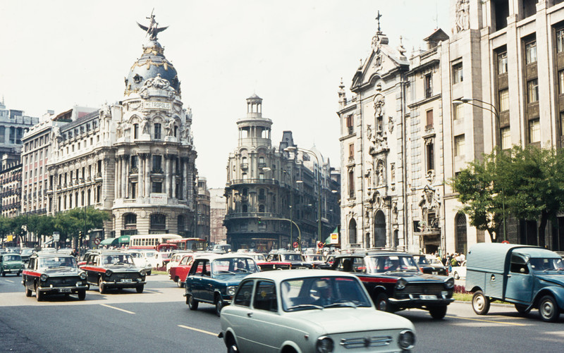 1972-09 Madrid - Avenida Jose Antonio