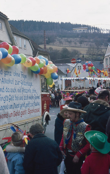 1972-02 Fasching (pre-Lenten celebration), in town near Wildflecken, Germany) - 2