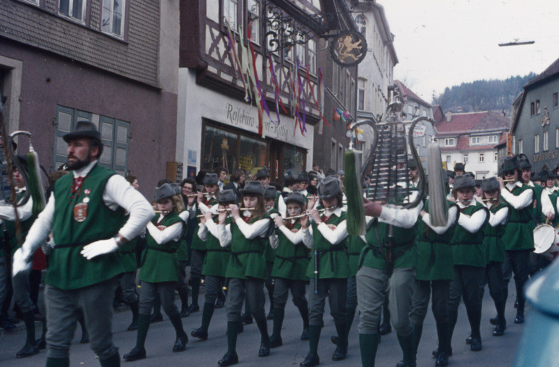 1972-02 Fasching scene near Wildflecken, Germany - 3