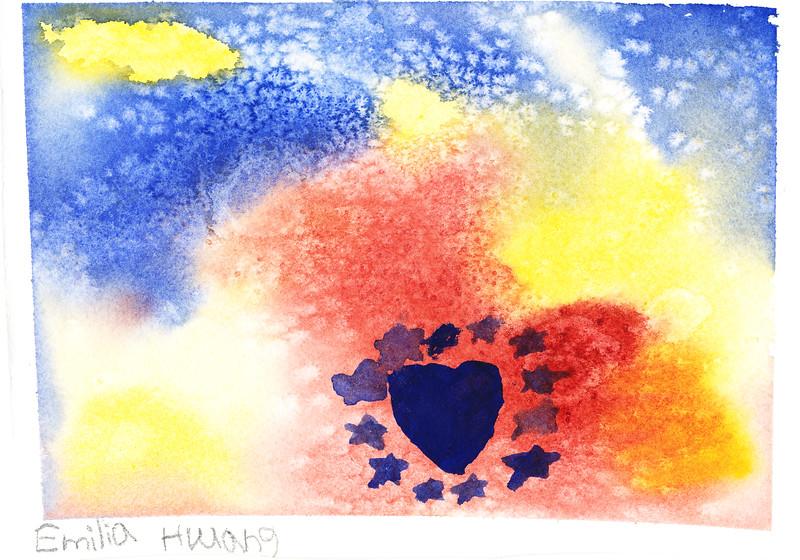 2015-08-24 Watercolor - Salt and Alcohol - Emilia Corinne Hwang