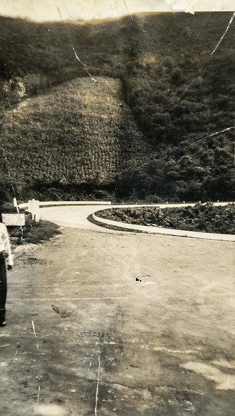Sort ID: 1941-M04 Image ID: C394 Year: 1941.  Photo content: Possibly, a road near Mexico City during honeymoon of morther and dad.