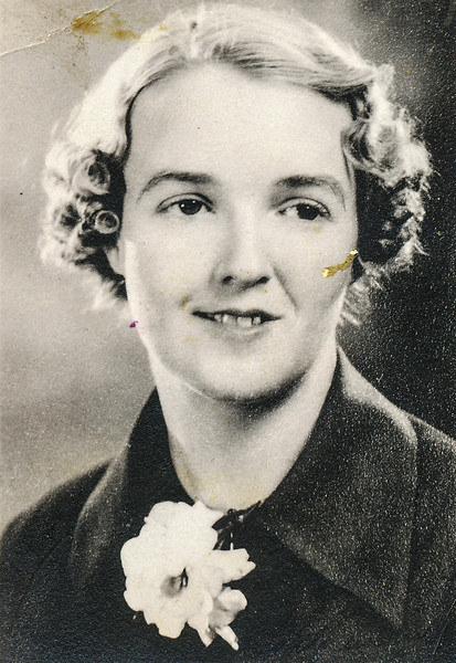Sort ID: 1936-01 Image ID: C315 est Year: 1936. Photo content: According to Aunt Caroline, Margaret was named after  mother's friend, Margaret Wood, pictured here.