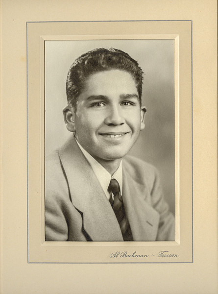 Sort ID: 1942-01 Image ID: D079 (est) Year: 1942. Photo content: Rudy Delgado, son of Luis. Location of photo: Not known.