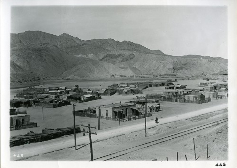 """1889 SMELTERTOWN, TEXAS. Smeltertown is an industrial area on Interstate Highway 10, U. S. Highway 80, the Southern Pacific and the Atchison, Topeka and Santa Fe railroads, and the east bank of the Rio Grande, just west of downtown El Paso in western El Paso County. The community came into being with the construction in 1887 of the Kansas City Consolidated Smelting and Refining Company (later the American Smelting and Refining Company, or ASARCOqv) copper and lead smelter, after which it was named. In the 1880s the Mexican employees of the smelter began building houses west of the smelter, beside the Rio Grande. San Rosalía Church, named after the Chihuahua town from which most of the first parishioners came, was built in 1891, and E. B. Jones School was established later. The church was later renamed San José del Río Grande, but burned in 1946 and was replaced by the San José de Cristo Rey Church. In 1938 the population of Smeltertown was estimated at 2,500; a post office was established the following year and closed four years later. In June 1945 the El Paso Herald-Post called attention to the poverty in Smeltertown, which included a cluster of small adobe dwellings with dirt floors and windows without glass.  <a href=""""http://digie.org/media/5224"""">http://digie.org/media/5224</a>"""