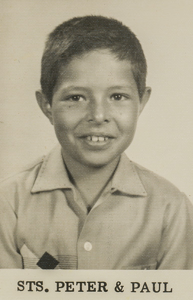 Sort ID: 1957-01 Image ID: B126 (est) Year: 1957. Photo content: Fred. Location of photo: School photo.
