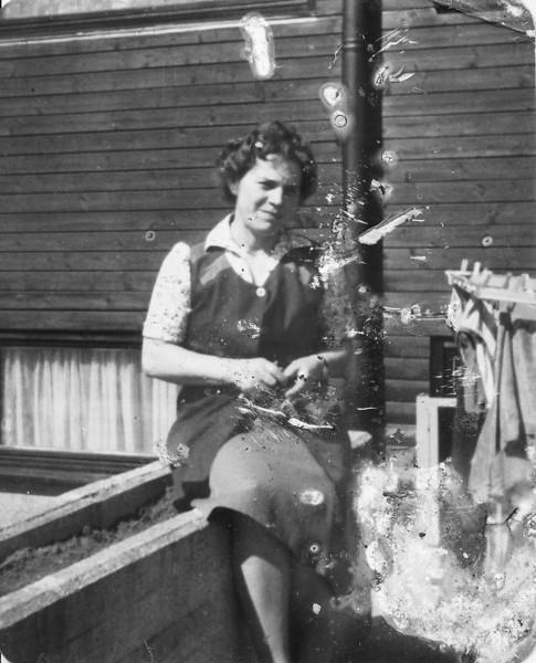 1984 Frau Dengler of the Children's home near Wildflecken, Germany