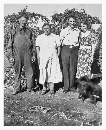 Alphonse, Kathryn, Theo, Lenea