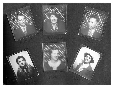 Robert, Lenea, theo, Maria, Clarice, Elsie