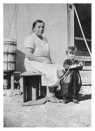 Grandma and Ethel