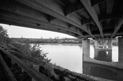 Under the James Macdonald Bridge