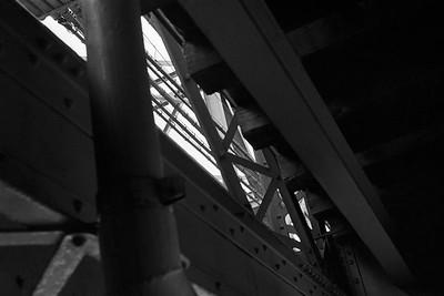 Under the Low Level Bridge