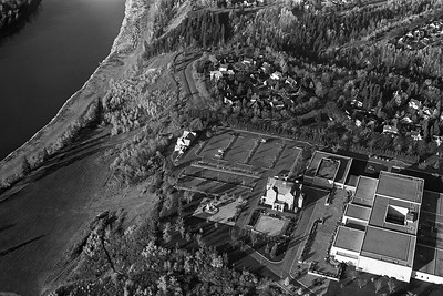 Government House and Alberta Archives from Cessna 150 - October