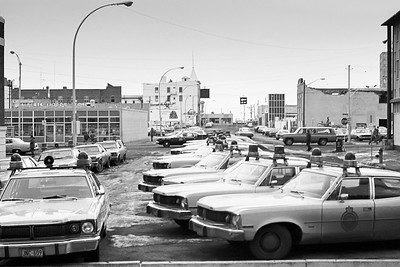 Squad Cars at the Old Edmonton Police Station