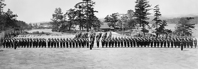 Parade grounds at HMCS Naden in Esquimalt, BC