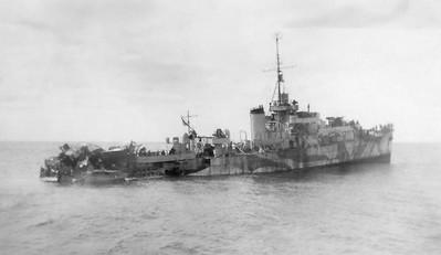 Torpedoed HMCS Chebogue