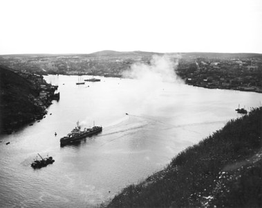 HMCS Saskatchewan Leaving St. John's Harbour