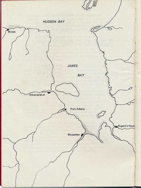 Homes around the Bay 1971: map
