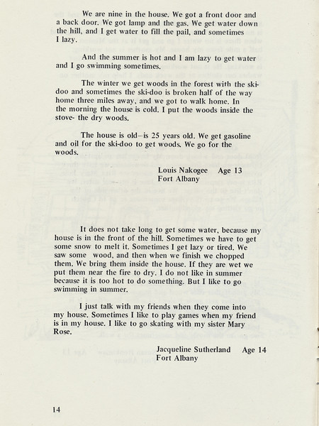 Homes around the Bay 1971: Story by Louis Nakogee. Story by Jacqueline Sutherland.