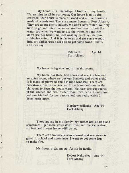 Homes around the Bay 1971: Story by Rita Scott. Story by Matthew Williams. Story by Robert Nakochee.