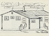 Homes around the Bay 1971: Drawing by Remi Paulmartin.