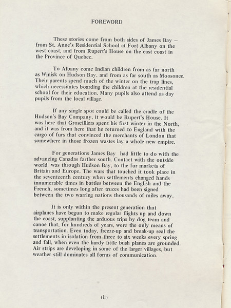 Homes around the Bay 1971: Foreword by Miss M. Young.