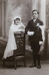 Communion solennelle de Suzanne et Maurice Orville