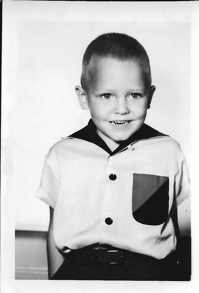 Spring Hill ISD - Kindergarten picture-  1956