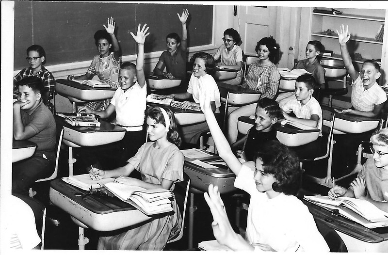 Spring Hill ISD class.