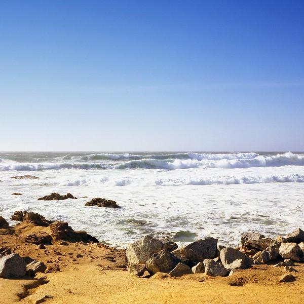 Sand, Rocks and Sea