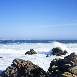 Breakers on the California Coast