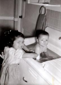 #21 Regina Bathing Dianna  1954