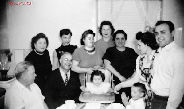 #8 Regina's 1st Birthday 5-20-1952