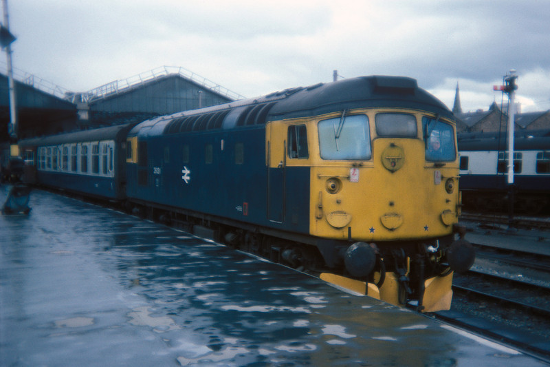 Class 26 No 26031 at Inverness