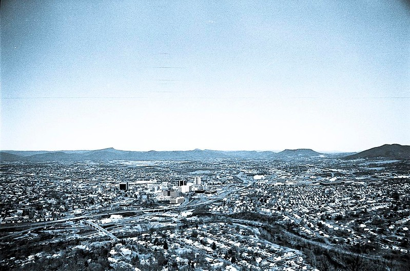 Downtown Roanoke, ca. 1993