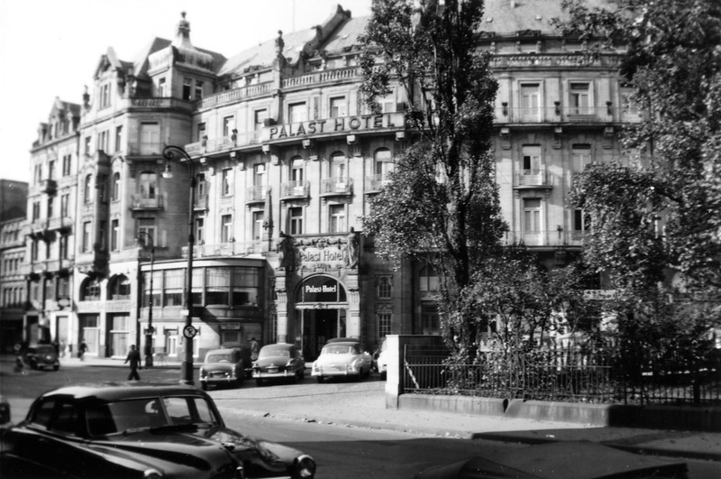 """Palast Hotel, Wiesbaden, 1953"""