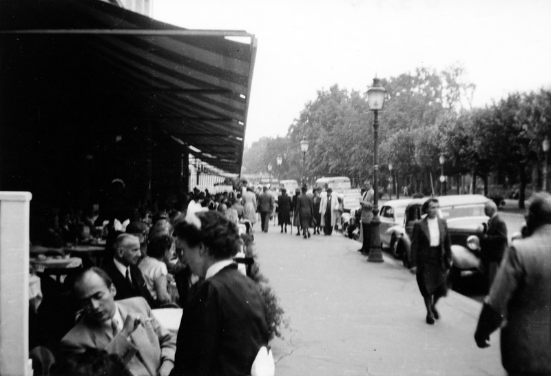 """""""Wilhelmstrasse, Wisbaden, 1952"""""""
