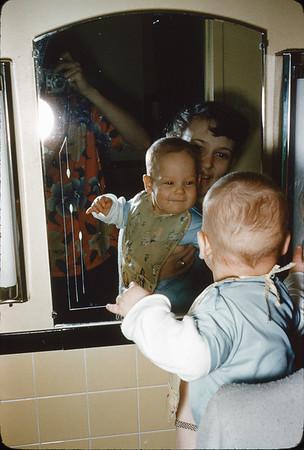 2/27/1954 Uncaptioned 35mm Kodachrome duplicate slide