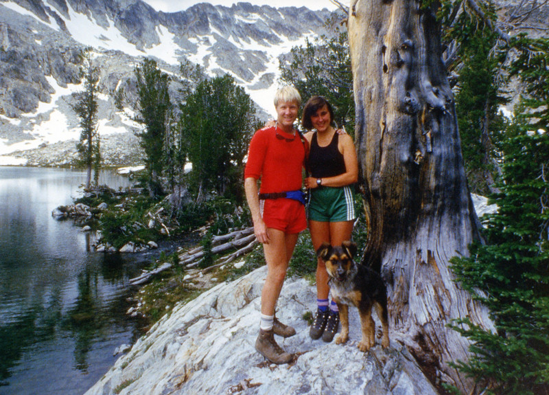 Doug and Charlotte.  Alice / Toxaway Loop.  Idaho. 1985?