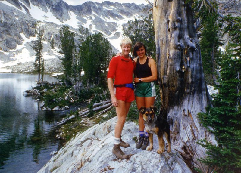 Doug and Charlotte.  Alice / Toxaway Loop.  Idaho. 1985?