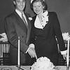 Ken Greene. Carolyn.  Wedding day. 1951.