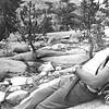 Ken Greene. Backpacking in Sierras. Unknown date.