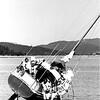Sailing.  San Juan Island.  Dan Pruett. Doug Greene. Doug Fitch. Carol. Caroline.
