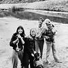 Brenda Ranes, Karen Coulter, Rick diOreo, Doug Greene.  Approx 1979?