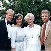 Doug. Charlotte. Carolyn.  Joe.  Approx 1985 or 1986.