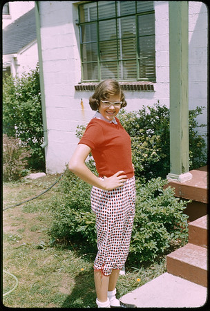 "5/18/1955 ""Karen"" 35mm Kodachrome slide Mount dated March 1981 (remounted?) Stamped #14"